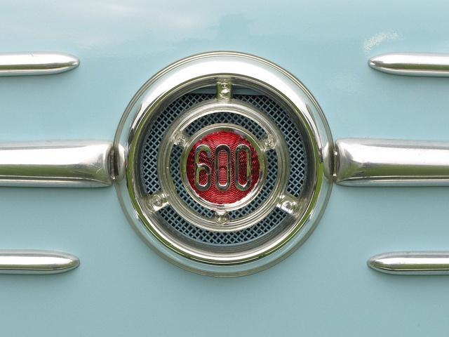 Fiat 600 emblem by SeeMonterey