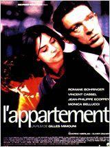 L'appartement - drame romantique. Avec Vincent Kassel et Monica Bellucci. Plus d'info: http://www.allocine.fr/film/fichefilm_gen_cfilm=15373.html