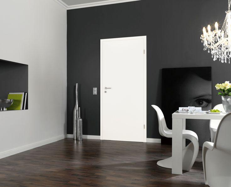 Innentüren in weiß online kaufen. Unsere kuporta Zimmertür mit Zarge in weiß ist modern und chic. Bei einer Renovierung oder einem Neubau finden Sie bei uns die passenden Zimmertüren online.