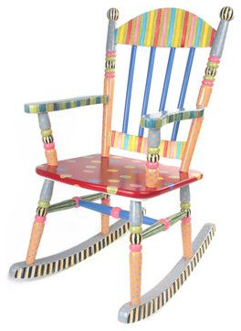 Wee Rocking Chair | MacKenzie-Childs - eclectic - Rocking Chairs And Gliders - Other Metro - MacKenzie-Childs