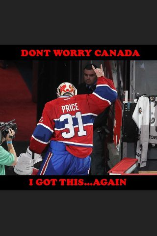 Carey price Montreal canadiens