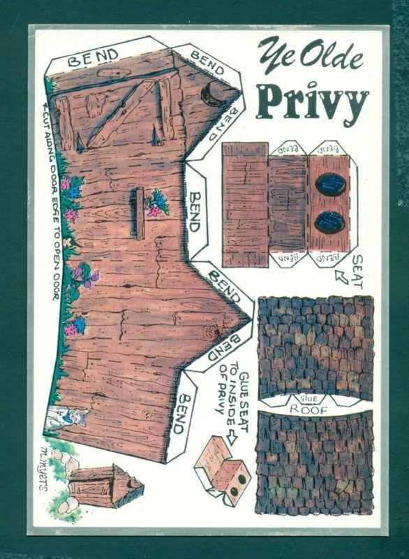 141 besten outhouse postcards bilder auf pinterest postkarten alaska und bettw sche. Black Bedroom Furniture Sets. Home Design Ideas