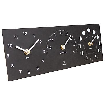 Buy John Lewis Eco Moon/Temp/Time Clock online at JohnLewis.com - John Lewis