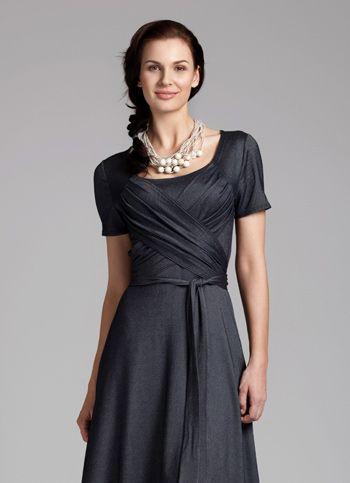 Dámské úpletové šaty Evening Star Dámské oděvy