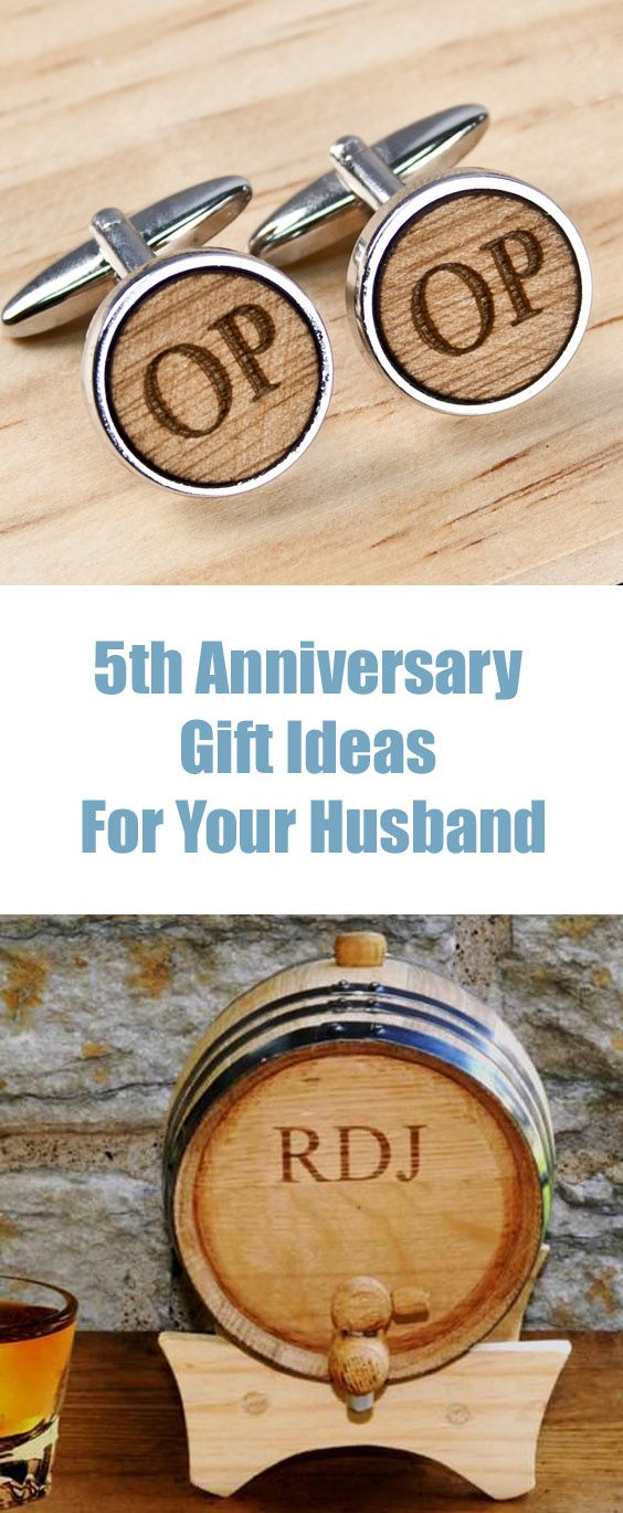 Perfect Wedding Anniversary Gift For Husband: The Best 5th Anniversary Gifts For Your Husband