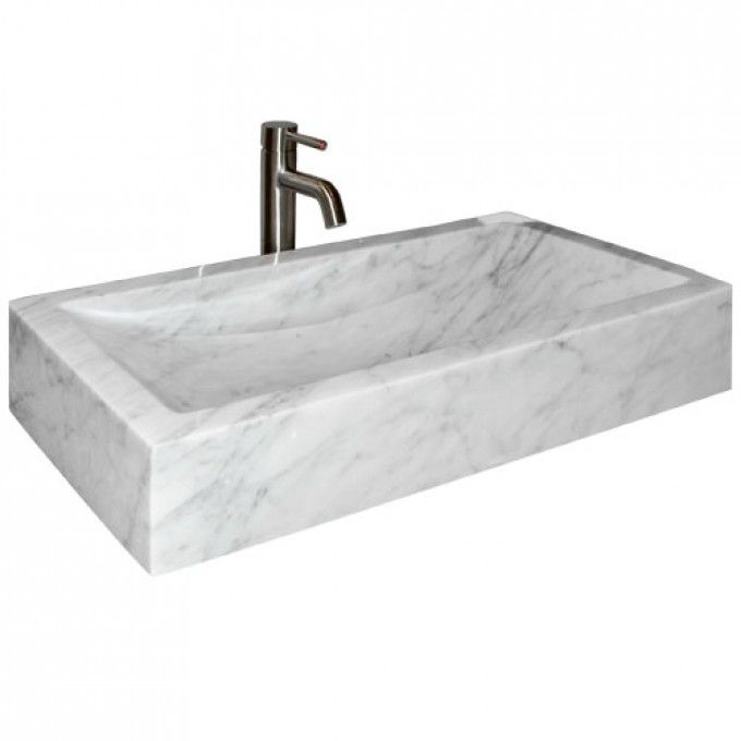 Carrara Marble Bathroom Sink: Http://www.signaturehardware.com/bathroom/bathroom