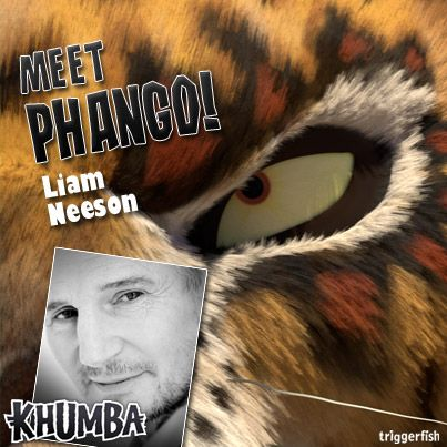 """""""Things are about to get WILD!"""" Meet  Phango! This villain is FIERCE!!! And not in a stylish way either ;)  Liam Neeson is Phango,  a dangerous, ruthless leopard on a mission to gain more power. Khumba is the one he has been waiting for.. It was written. Can destiny be changed??  Available in Walmart (US) exclusively from January 14th! Soon you too, can really be part of the herd."""
