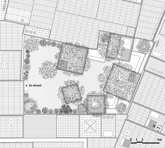 House for Trees,Site Plan