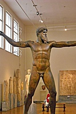 Greece Athen- At the national museum of archeology- Zeus