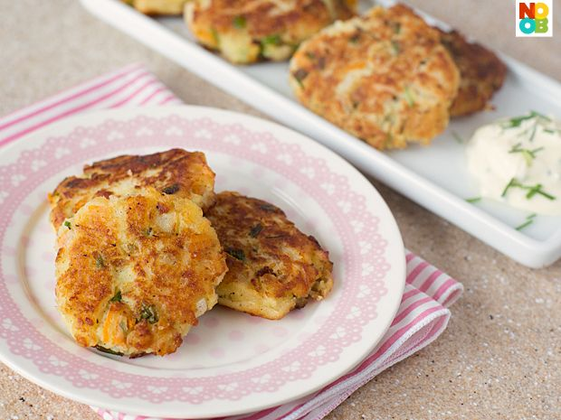 Easy recipe for pan-fried potato patties using a few simple, common pantry ingredients.