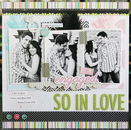 Layout so in love and in love on pinterest