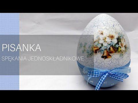 Pisanka ceramiczna ze spękaniami - YouTube