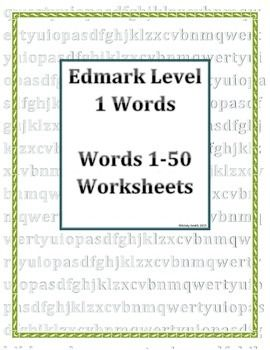Worksheets Edmark Reading Program Worksheets 1000 images about edmark reading on pinterest these worksheets allow students to practice seeing and using the words that they are introduced in