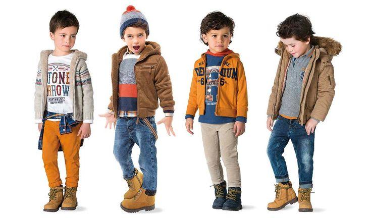 Mayoral coleccion mini oto o invierno 2015 2016 moda de - Moda nino 2015 ...