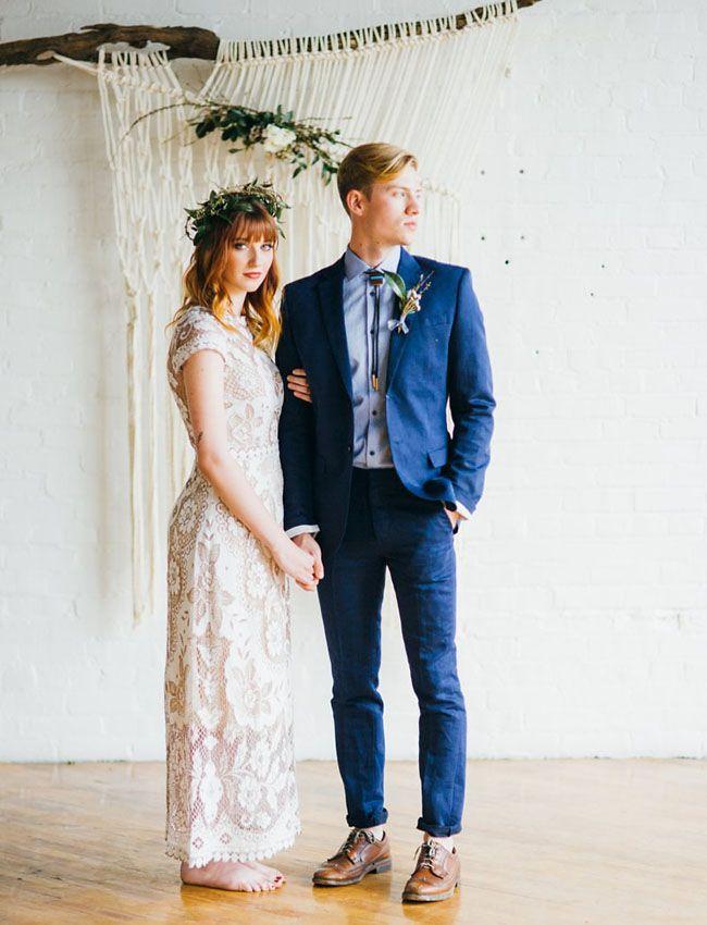 Romantic, Handwoven Wedding Inspiration