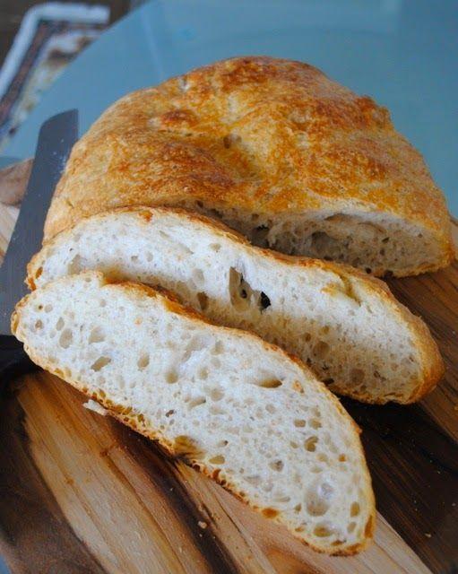 Ура! Ура! Ура! Я наконец нашла рецепт гипер-простого, совершенно не замороченного домашнего хлеба без использования опары, закваски, пули...