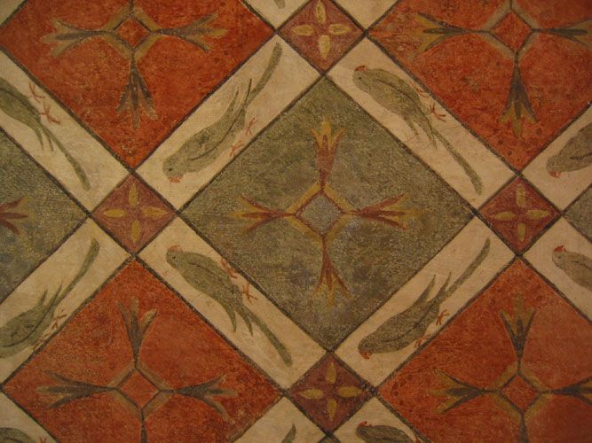 Renaissance Wall Treatments Were Simple Paintings With A