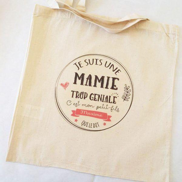 Offrez des sacs personnalisés - Tote bags - pour déclarer vos messages personnalisés à tous vos proches et amis !