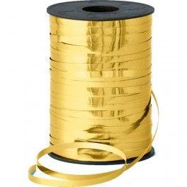 Ballon- c.q. krullint goud metallic