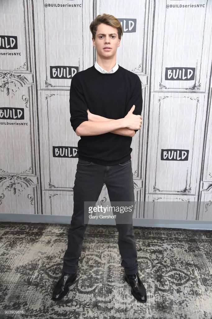 Actor Jace Norman visits Build Series to discuss his marketing agency, Creator Edge Media at Build Studio on January 11, 2018 in New York City.
