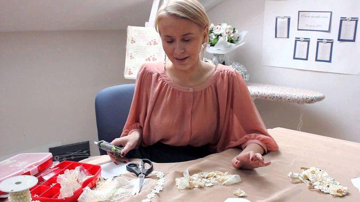 Мастер класс по созданию уникального винтажного ожерелья. Идеально для повседневного или свадебного образа .