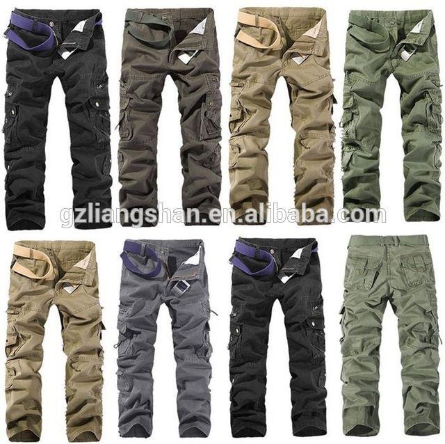 Мужчины свободного покроя работа PantsTrousers армия бегуном камо боевая военные брюки брюки-карго-вМужские брюки и штаны из Мужская одежда на m.russian.alibaba.com.