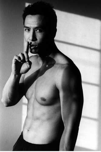 this is naughty. you're a bad boy, Donnie Yen hee hee