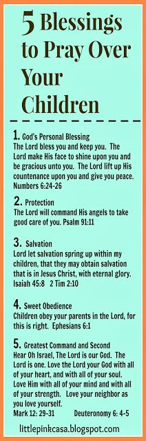 5 Powerful Blessings to Pray Over Your Children