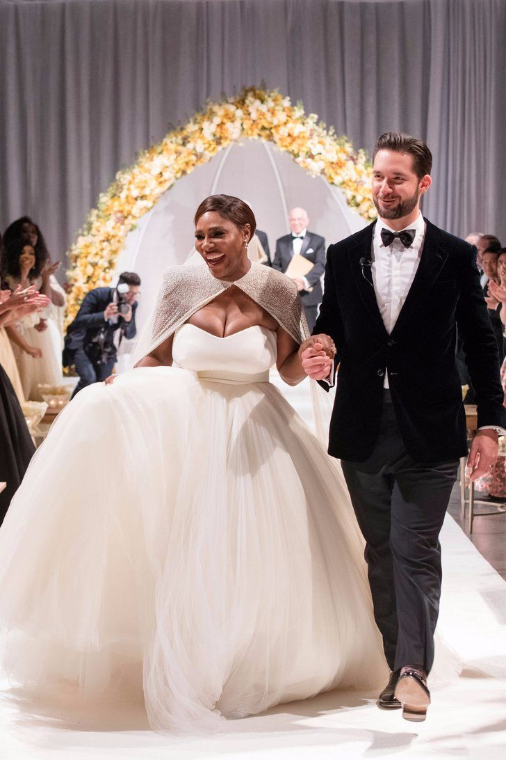 Serena Williams's Fairy-Tale Wedding Was Straight Out of a Disney Movie