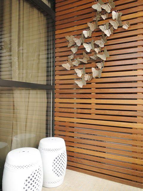 disfarçar janela do banheiro na varanda