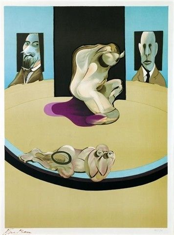 Metropolitan by Francis Bacon