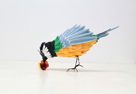 Paper Wildlife by Diana Beltran HerreraDiana Herrera, Paper Art, Paper Birds, Paper Sculpture, Birds Sculpture, Beltran Herrera, Beautiful Birds, Diana Beltran, Crafts