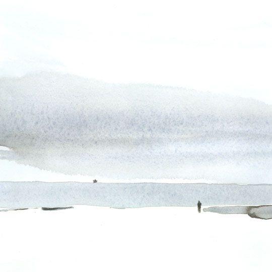 aquarell meer