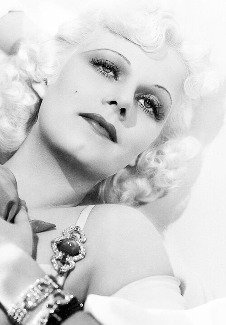 Hollywoods glamour girls jean harlow, all black movies