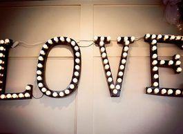Tutoriel DIY: Fabriquer des lettres lumineuses via DaWanda.com