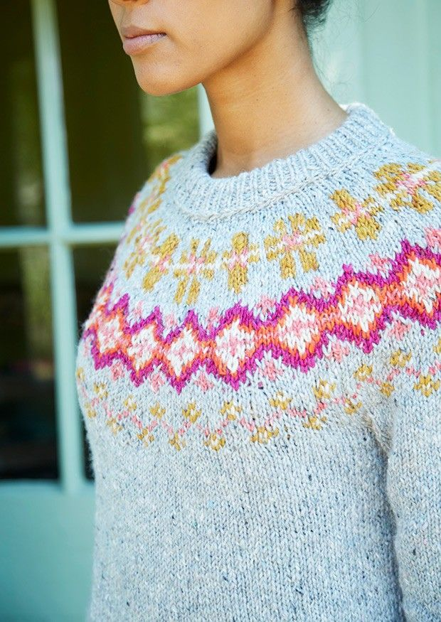 506 best Knitting: Fair Isle, Double color knitting images on ...