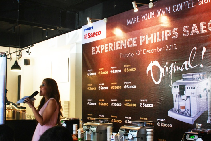 Launching Philips Saeco 2012 Intelia & Royal