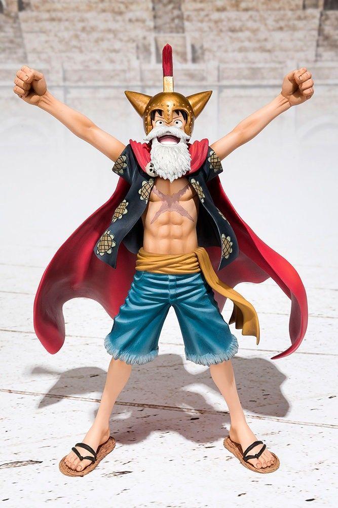 One Piece PVC Action Figure Gladiator Lucy Luffy Figuarts ZERO 15 cm (Bandai) Continua il trionfo della bella serie di dettagliatissime figure NON articolate   (appunto, Figuarts ZERO, come