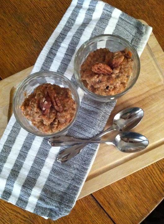 ... Raisins, finely chopped Pecans, finely chopped Cinnamon Pumpkin pie