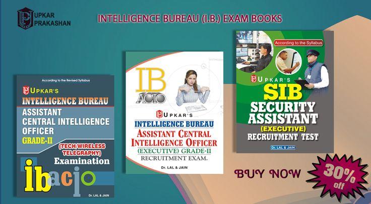 Buy Intelligence Bureau IB Exam Books with 30% off.