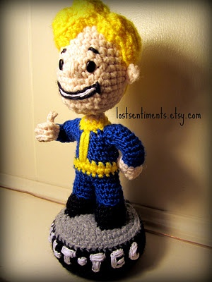 Fallout 3 Bobblehead for the mister