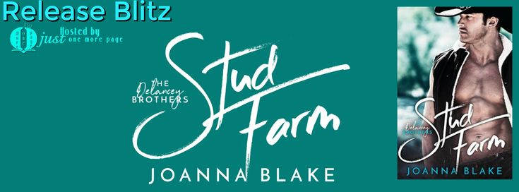 Teatime and Books: Release Blitz ~ Stud Farm - Delaney Brother's by J...