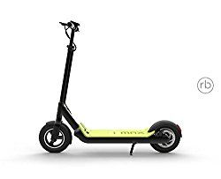 The Imax S1+ Electric Scooter was uniquely designed to ensure maximum comfort and safety. It is fitted with 10 inch inflated tires in the front and at the back which acts as shock absorbers making it easy to ride on any terrain. It also has a specious deck that provides a huge standing space and boosts stability as well.
