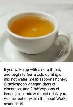 Against cold med!