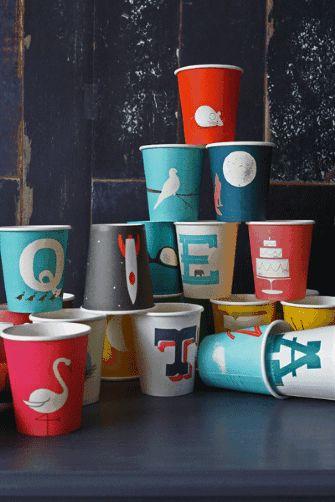 fun paper cups!