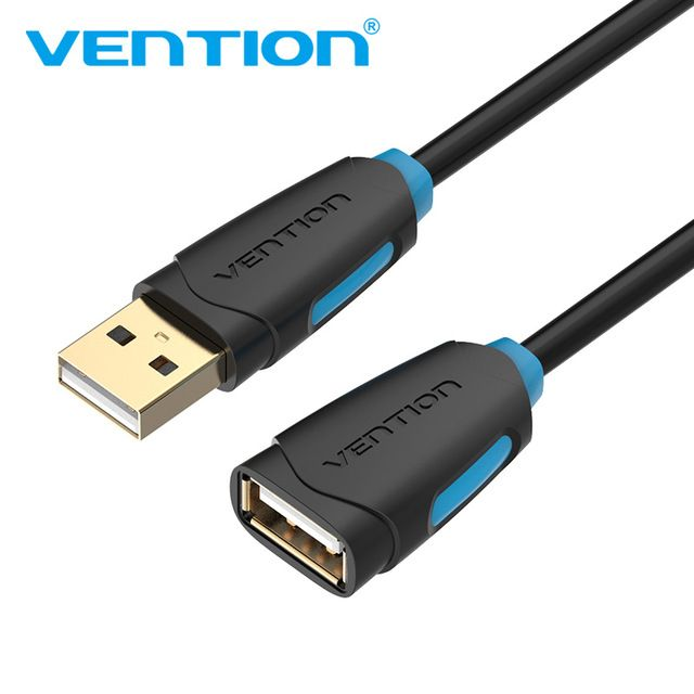 VENTION USB 2.0 micro Cable wiht Type C fast charger 3m Blue