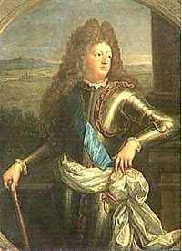 Louis, Le Grand Dauphin (1661 - 1711). Dauphin from 1661 to 1711. Only child of Louis XIV and Maria Theresa to survive to adulthood. He married Maria Anna Victoria of Bavaria and had three sons. He died before his father.