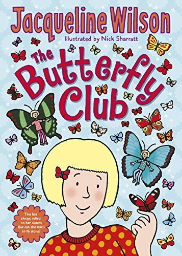 The Butterfly Club by Jacqueline Wilson http://www.amazon.co.uk/dp/0857533177/ref=cm_sw_r_pi_dp_swZ7ub1NNWY8F