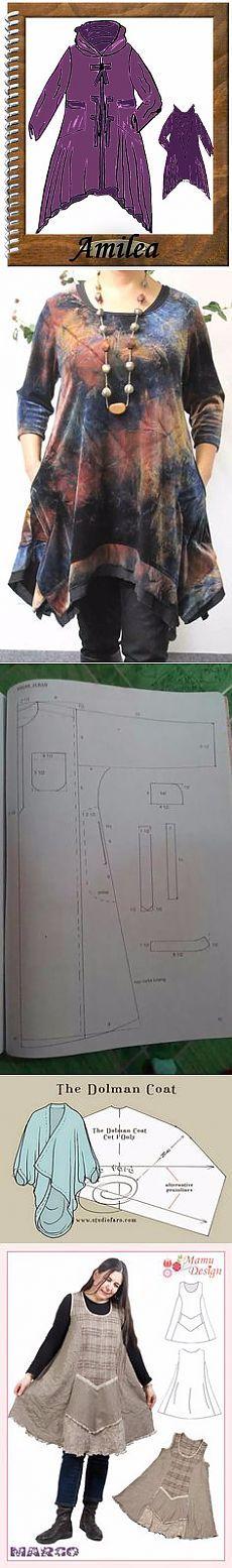 Бохо-вещички с выкройками и схемами