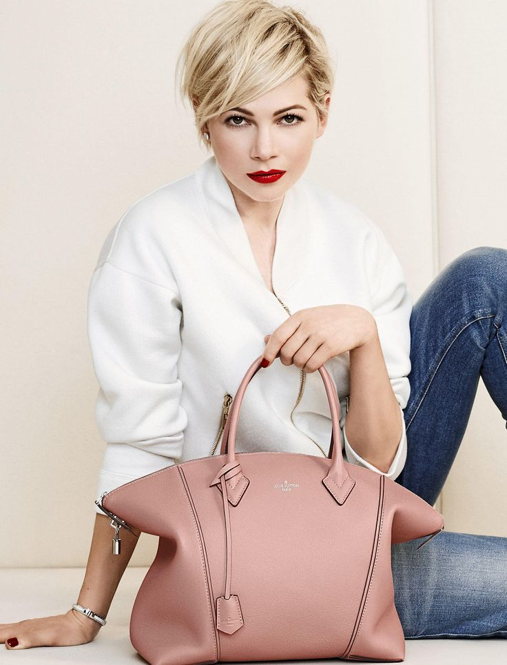 THE NEW LOCKIT INTRODUCED BY MICHELLE WILLIAMS - Louis Vuitton NEWS